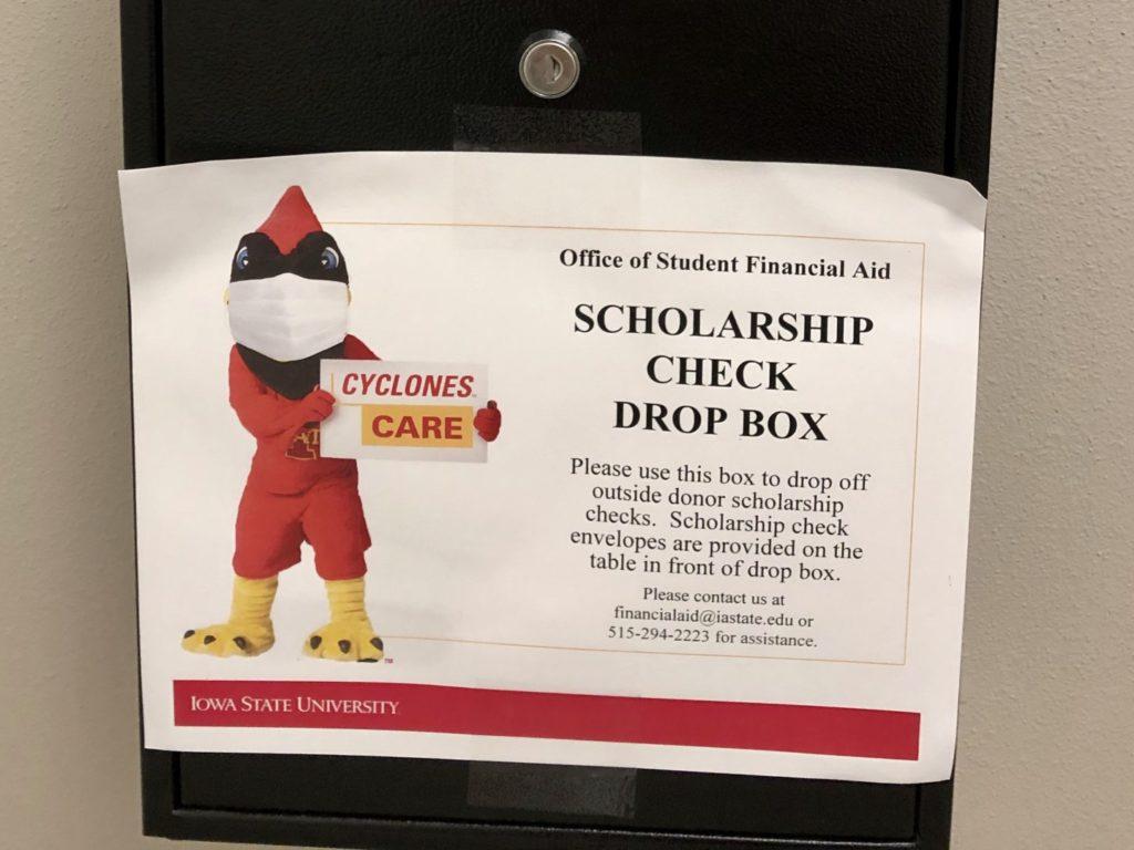 scholarship dropbox infographic
